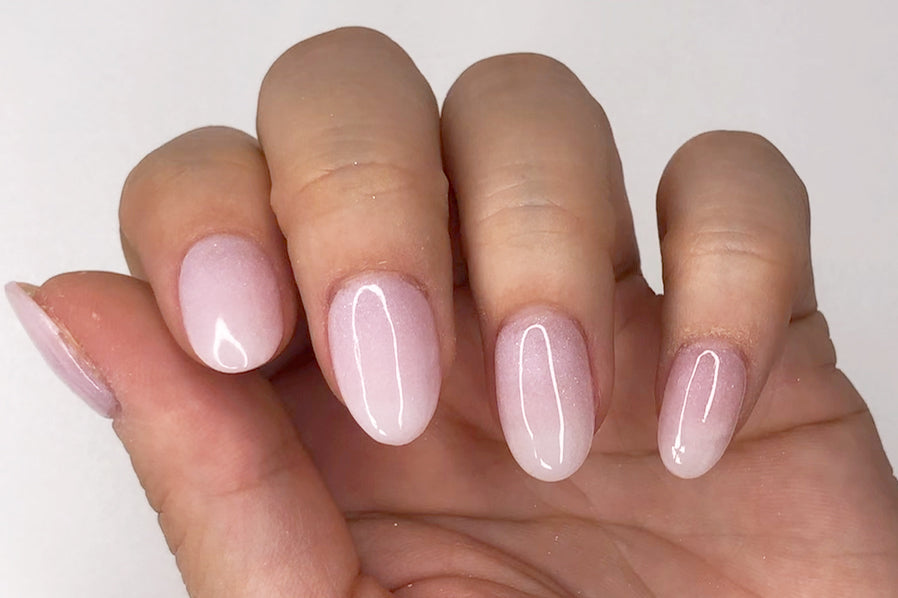 Pink to white ombre nails Pink and white ombre dip nails Pink and white dip nails Pink and white nails