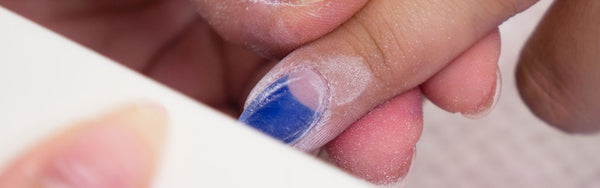 How to buff your nails in a dip mani | DipWell