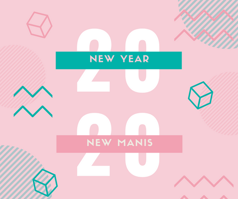 New Year Nail Nails | DipWell