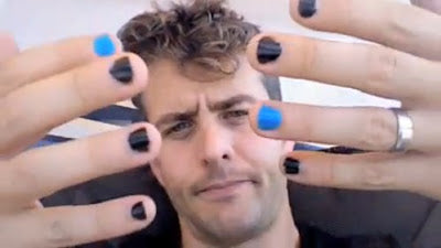 Male Manicures & Nail Designs