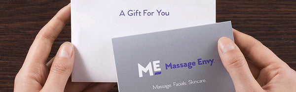 Massage Envy gift card for Valentine's Day | DipWell