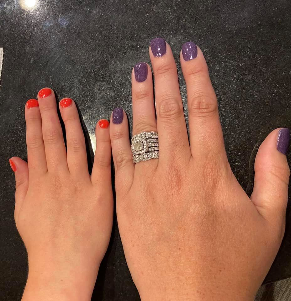 mommy and me mani