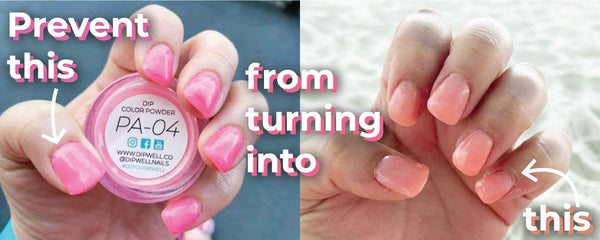 Prevent your nail color from fading | DipWell