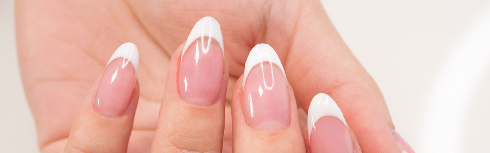 how to get dip nails shiny