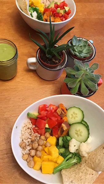 Buddha Bowl - With Green Heaven Dressing