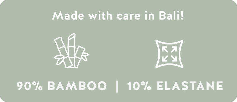 Made with care in Bali!