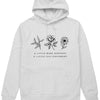 A Little More Kindness A Little Less Judgement - Hoodie (without zip)