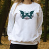 Bats For You. Colored - Organic Crew Sweatshirt