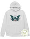 Bats For You. Colored - Organic Hoodie (without zip)