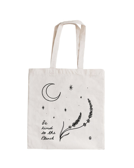 Be Kind To The Planet Tote Bag