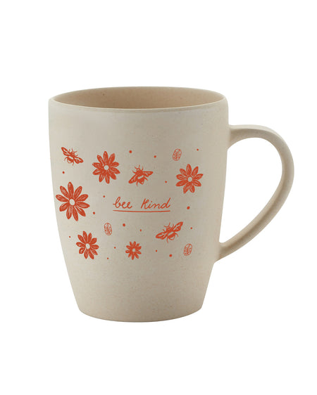 Bee Kind Bamboo Mug