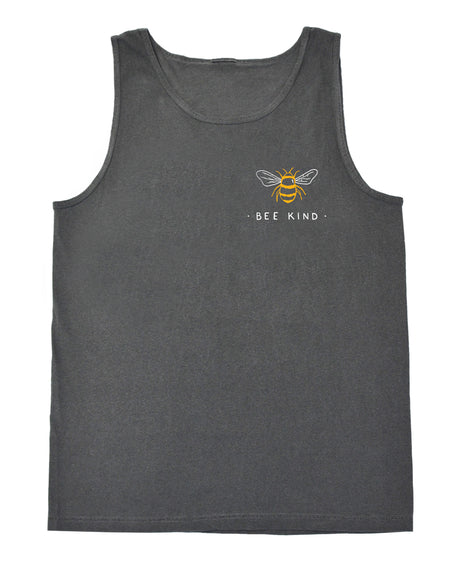 Bee Kind Beach Tank (Multicolored Print)