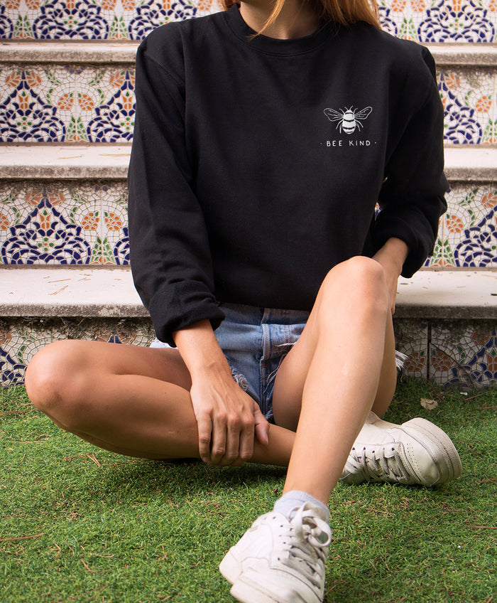 Bee Kind - Organic Crew Sweatshirt