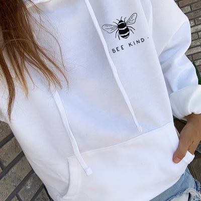 Bee Kind - Hoodie (without zip)