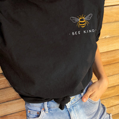 Bee Kind. Colored Version - Eco Tee