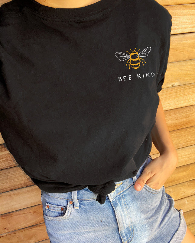 Bee Kind Eco Tee (Multicolored Print)