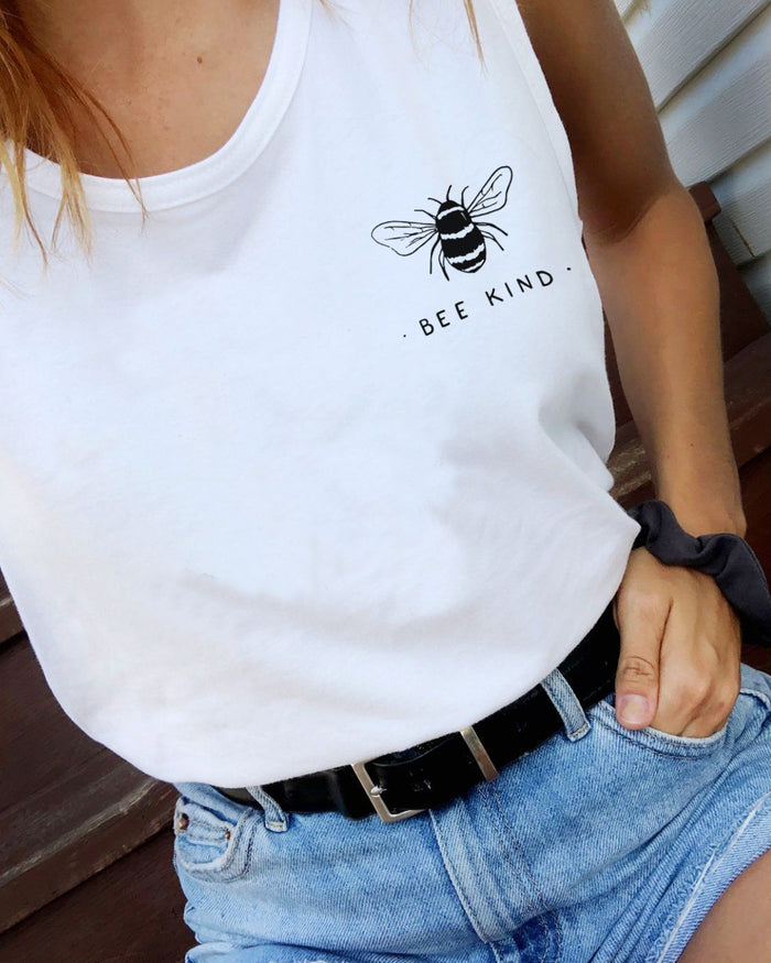 Bee Kind - Beach Tank