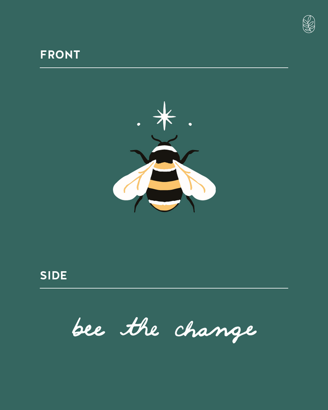 Bee The Change Cap