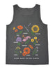 Bloom Where You Are Planted Beach Tank
