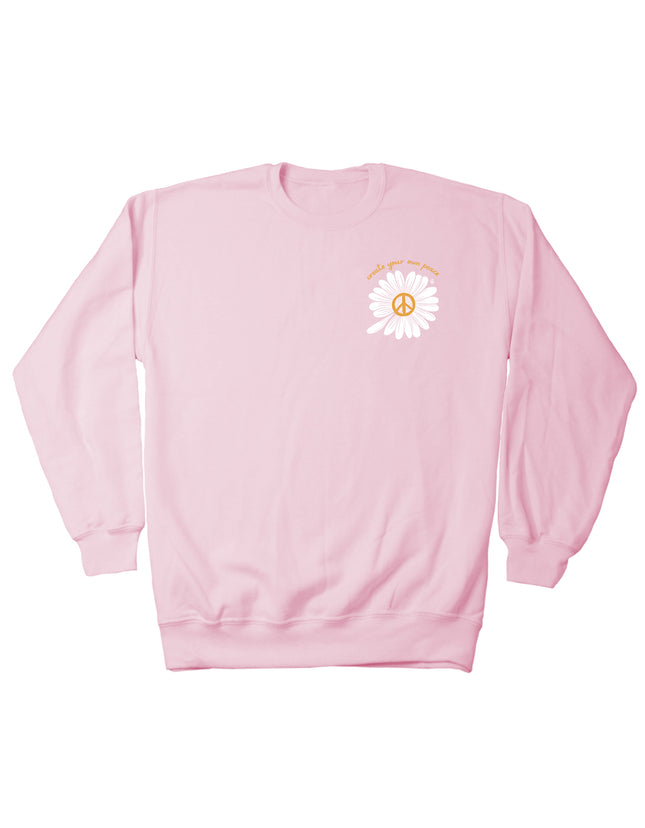 Create Your Own Peace Sweatshirt