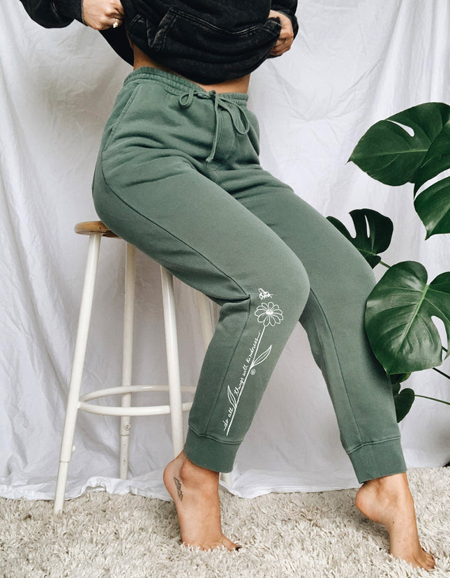 Do All Things With Kindness Joggers