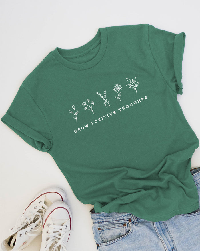 Grow Positive Thoughts - Eco Tee