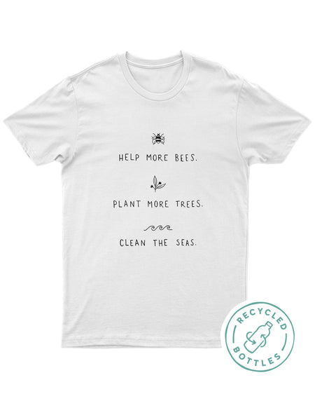 Help More Bees Eco Tee