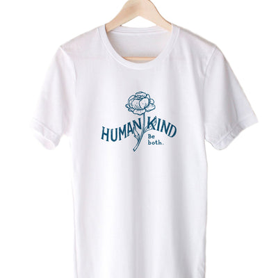 Human Kind Be Both. Rose V1 - Eco Tee (Pre-Order)
