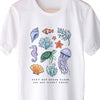 Keep Our Ocean Clean And Our Planet Green. Colored - Reef - Eco Tee