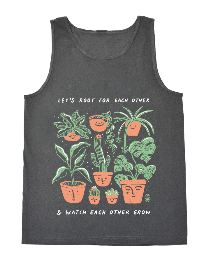 Let's Root For Each Other Beach Tank