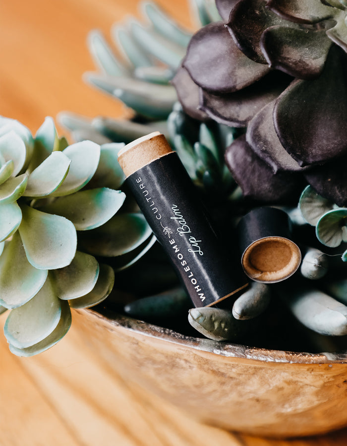 Peppermint Lip Balm - Vegan & Organic