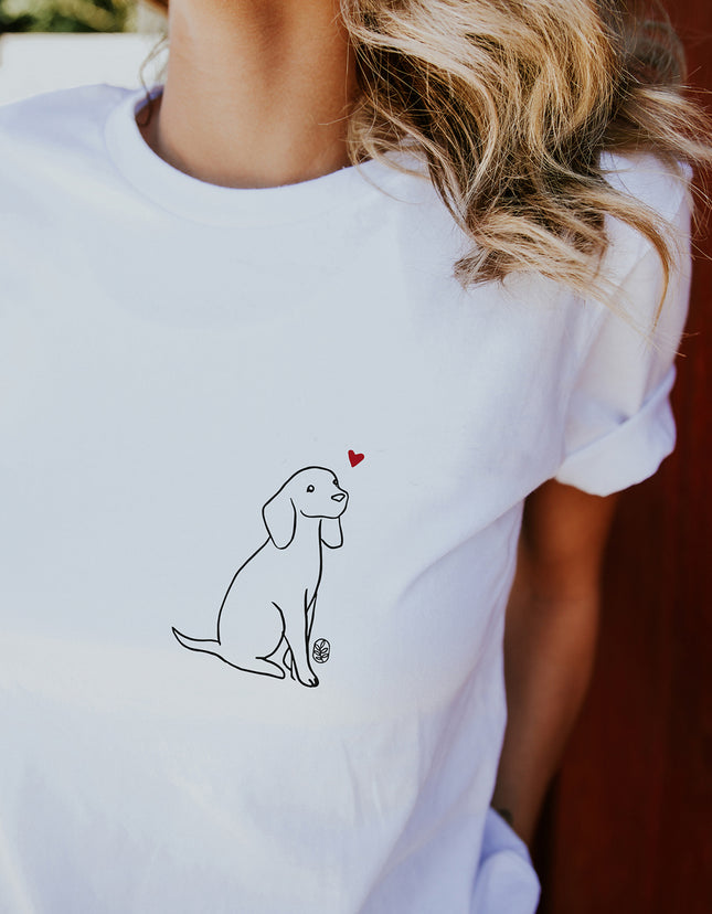 Love All Creatures (Dog) Tee