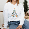 Merry Catmas. Colored - Crew Sweatshirt