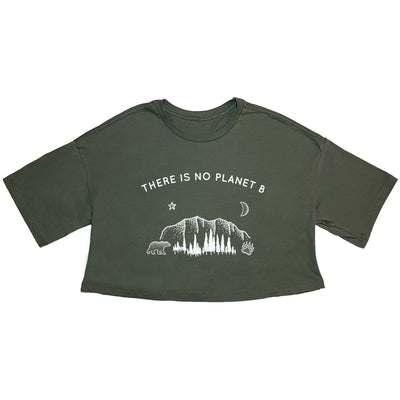 There Is No Planet B - Cropped Tee