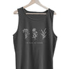 No Rain No Flowers - Beach Tank