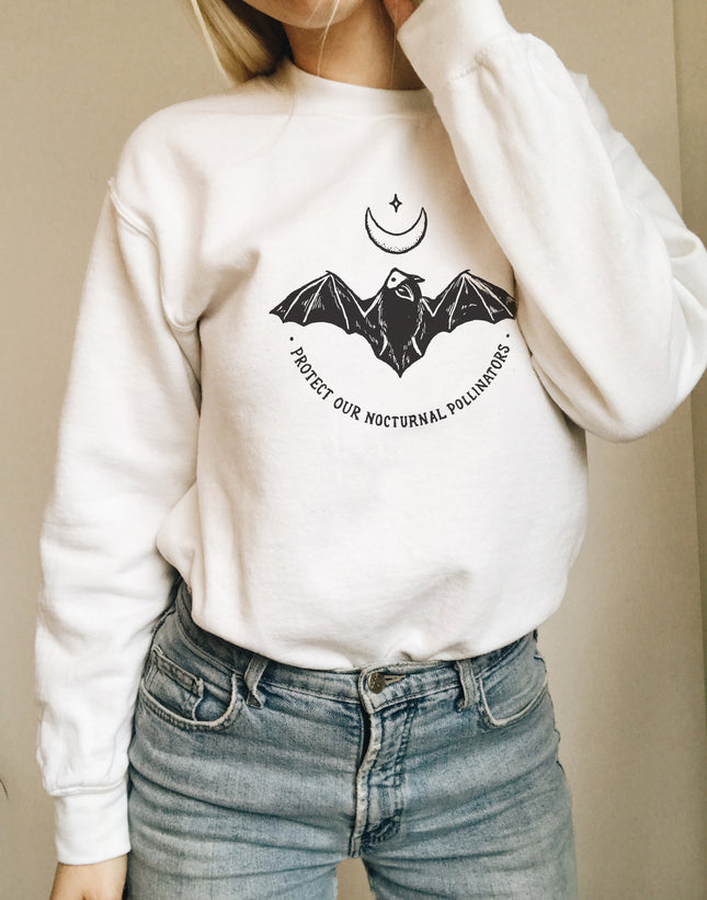 Protect Our Nocturnal Pollinators Sweatshirt