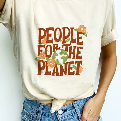 People For The Planet. Colored - Tee