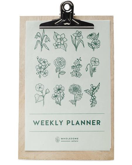 Wholesome Culture Weekly Planner