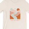 Protect Our Waters Save The Planet. Colored - Tee