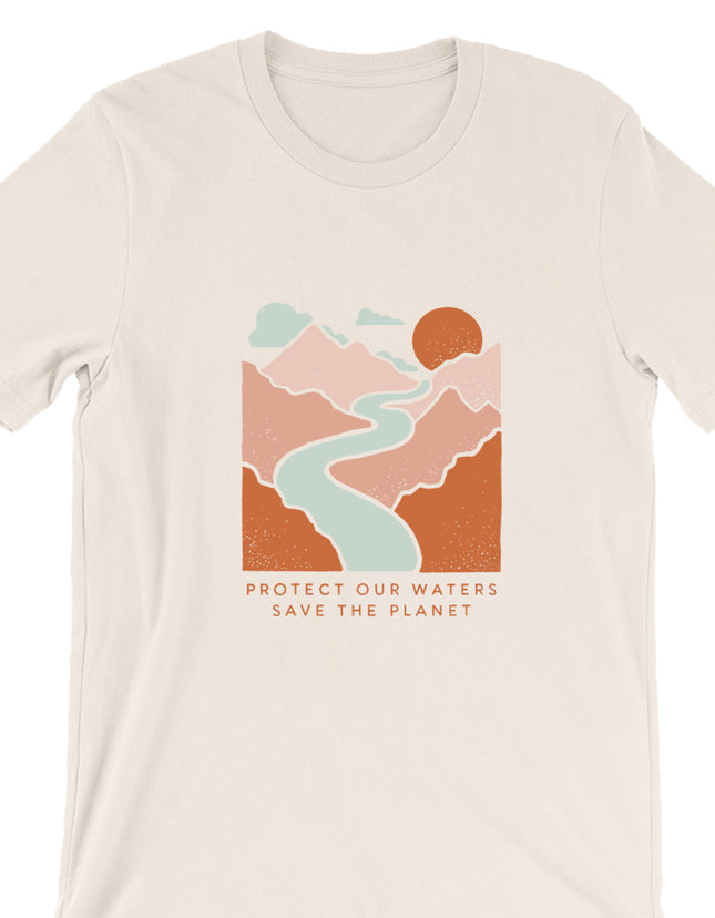 Protect Our Waters Save The Planet Tee