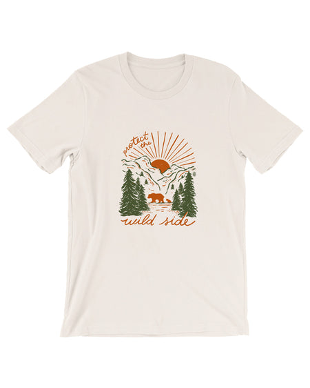 Protect The Wild Side (Bear) Tee