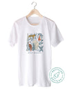 Protect The Wildlife Botanical Chart. Colored - Eco Tee