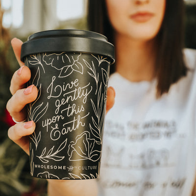 Live Gently Upon This Earth - Coffee Mug