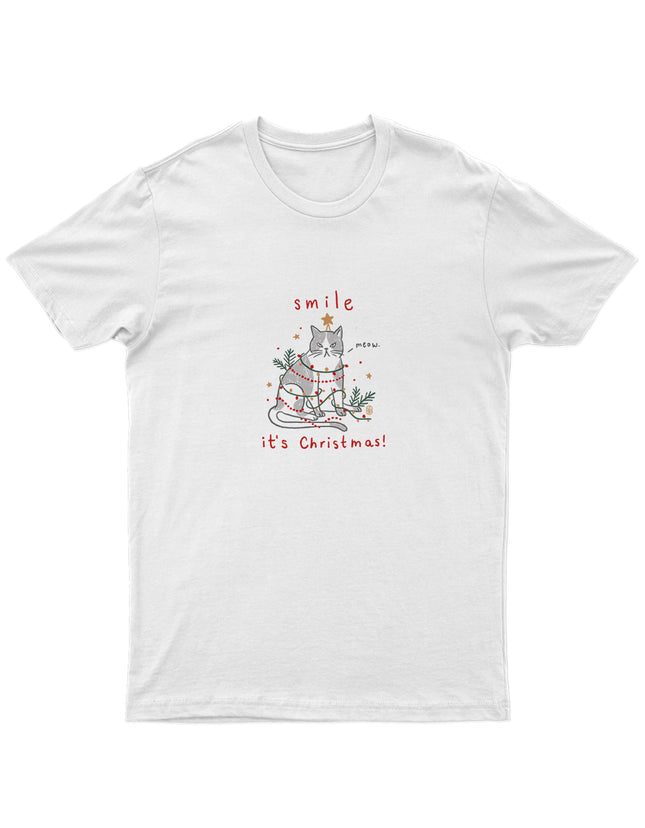 Smile It's Christmas Tee