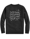 Sunset Chaser Earth Warrior Planet Lover - Crew Sweatshirt