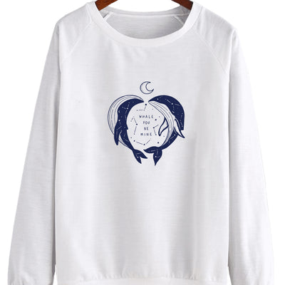 Whale You Be Mine - Crew Sweatshirt (Pre-Order)