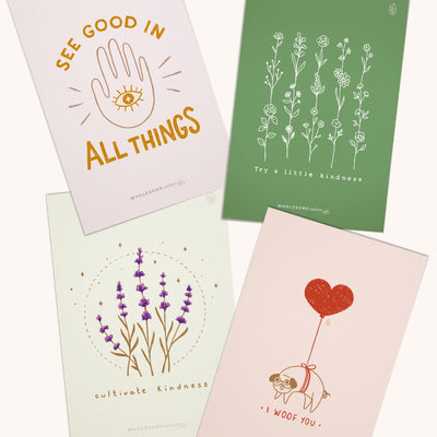 Wholesome Culture Greeting Cards Pack 1