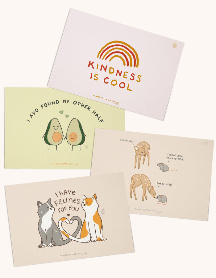 Wholesome Culture Greeting Cards Pack 3