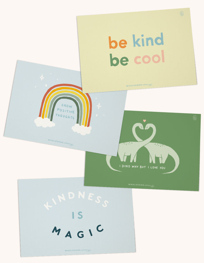 Wholesome Culture Greeting Cards Pack 4