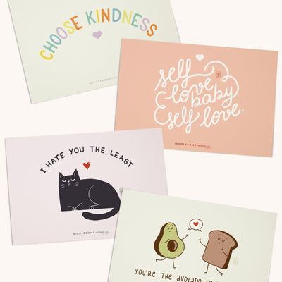Wholesome Culture Greeting Cards Pack 5